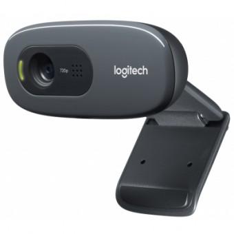Изображение Веб-камера Logitech Webcam C270 HD (960-001063)