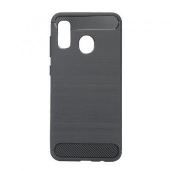 Зображення Чохол для телефона BeCover Carbon Series Galaxy A40 2019 SM-A405 Gray (703972)