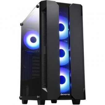 Зображення Корпус Chieftec Gaming Hunter Tempered Glass Edition (GS-01B-OP)