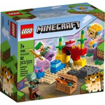 Изображение Конструктор Lego Конструктор  Minecraft Коралловый риф 92 детали (21164)