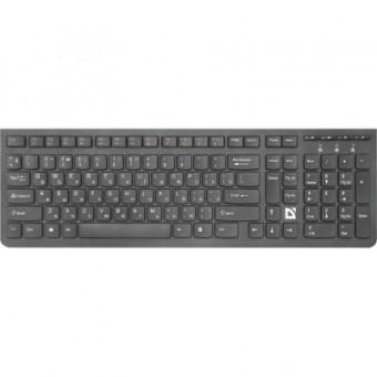 Зображення Клавіатура Defender UltraMate SM-535 USB RU Black (45535)