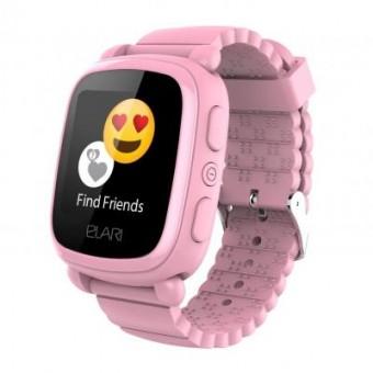 Изображение Smart часы  Смарт-часы  KidPhone 2 Pink с GPS-трекером (KP-2P)
