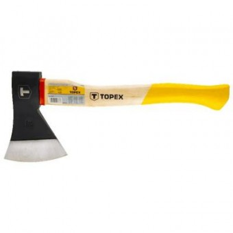 Зображення Сокира Topex 1000 г, деревянная рукоятка (05A140)