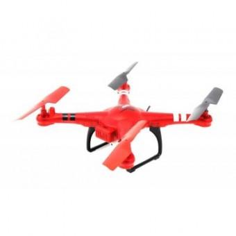 Зображення Радіокерована іграшка WL Toys Квадрокоптер Spaceship с барометром и камерой Wi-Fi (красный (WL-Q222K-R)