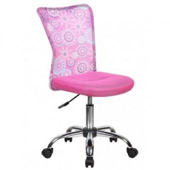 Зображення Офісне крісло  BLOSSOM pink (000002949)