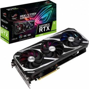Изображение Asus GeForce RTX3060 12Gb ROG STRIX OC V2 GAMING LHR (ROG-STRIX-RTX3060-O12G-V2-GAMING)