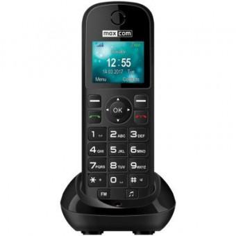 Изображение Мобильный телефон Maxcom MM35D Black
