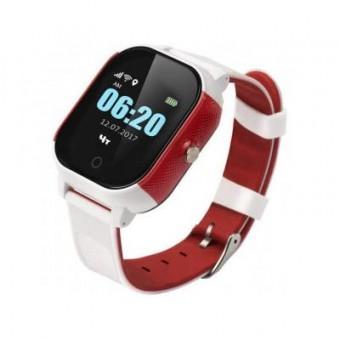 Изображение Smart часы GoGPS К23 white/red GPS (K23WHRD)