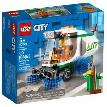 Изображение Конструктор Lego  City Great Vehicles Машина для очистки улиц 89 деталей (60249)