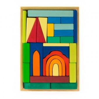 Изображение Конструктор nic Конструктор  деревянный Церковь (NIC523275)