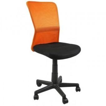 Изображение Офисное кресло Office4You BELICE, Black/Orange (000002172)