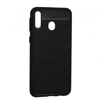 Изображение Чехол для телефона BeCover Carbon Series Galaxy M20 SM-M205 Black (703395)
