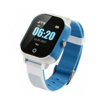 Зображення Smart годинник GoGPS К23 blue/white GPS (K23BLWH)