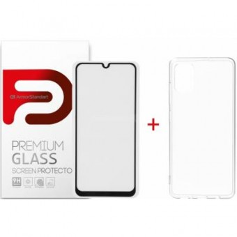Зображення Чохол для телефона Armorstandart Samsung A31 Air Series Panel   Full Glue Glass (ARM58042)