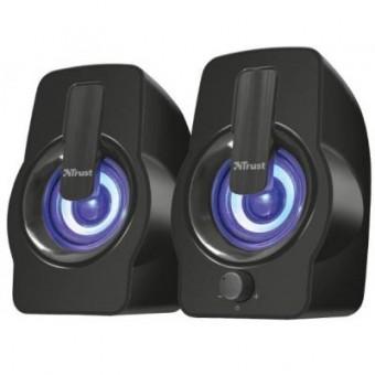 Зображення Акустична система Trust Gemi RGB black USB