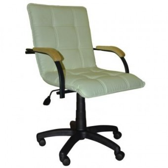 Зображення Офісне крісло ПРИМТЕКС ПЛЮС Stella GTP Black Wood 1.007 S-82 Beige (Stella GTP black wood 1.007 S-82)