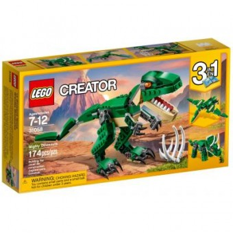 Зображення Конструктор Lego Конструктор  Creator Грозный динозавр (31058)