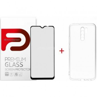 Изображение Чехол для телефона Armorstandart Xiaomi Redmi 9 Air Series Panel   Full Glue Glass (ARM58051)