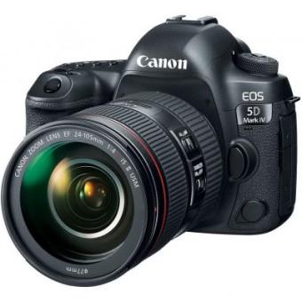 Зображення Цифрова фотокамера Canon EOS 5D MKIV 24-105 L IS II USM Kit (1483C030)