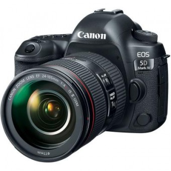 Изображение Цифровая фотокамера Canon Цифровой фотоаппарат  EOS 5D MKIV 24-105 L IS II USM Kit (1483C030)