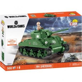 Зображення Конструктор Cobi Конструктор  World Of Tanks Шерман Файрфлай 500 деталей (COBI-3007A)