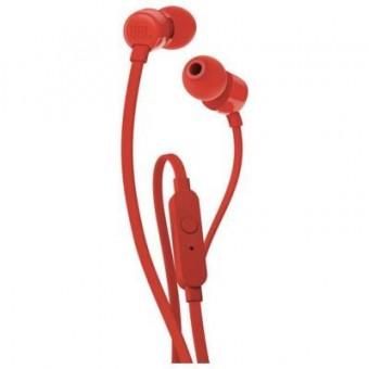 Зображення Навушники JBL T110 Red