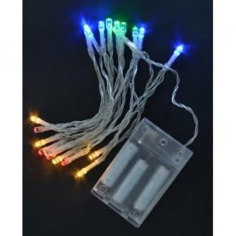 Изображение Гирлянда YES! Fun 20 LED лампочек, многоцветная, 2,10 м (801128)