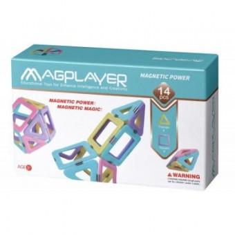 Зображення Конструктор Magplayer Конструктор  магнитный набор 14 эл (MPH2-14)