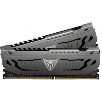 Зображення Модуль пам'яті для комп'ютера Patriot DDR4 16GB (2x8GB) 3600 MHz Viper Steel  (PVS416G360C7K)