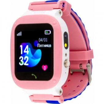 Зображення Smart годинник AmiGo GO004 Splashproof Camera LED Pink