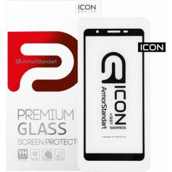 Изображение Защитное стекло Armorstandart Icon Samsung A01 Core 1 Black (ARM57289)