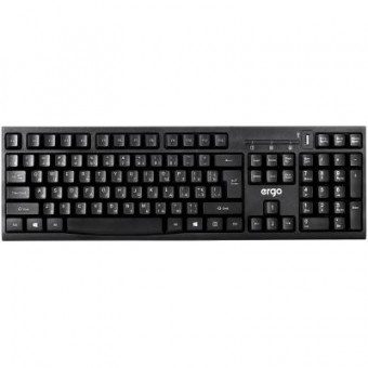 Зображення Клавіатура Ergo K-280HUB Black (K-280HUB)