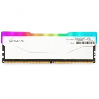 Изображение Модуль памяти для компьютера Exceleram DDR4 16GB 3000 MHz RGB X2 Series White  (ERX2W416306C)