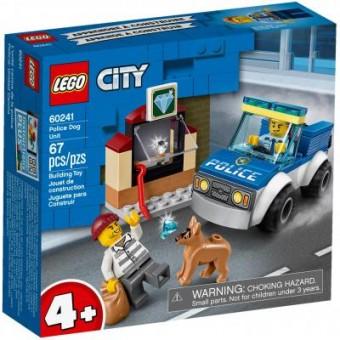 Изображение Конструктор Lego  City Police Полицейский отряд с собакой 67 деталей (60241)