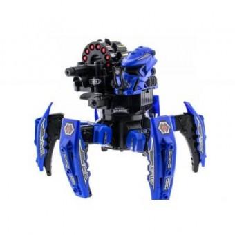Зображення Радіокерована іграшка Keye Toys Робот-паук Keye Space Warrior с ракетами и лазером ( синий) (KY-9003-1B)