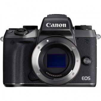 Зображення Цифрова фотокамера Canon Цифровой фотоаппарат  EOS M5 Body Black (1279C043)