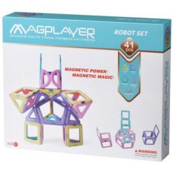 Изображение Конструктор Magplayer Конструктор  магнитный набор 41 эл. (MPH2-41)