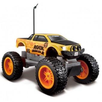 Изображение Радиоуправляемая игрушка Maisto  Rock Crawler Jr.жёлто-чёрный (81162 yellow/black)