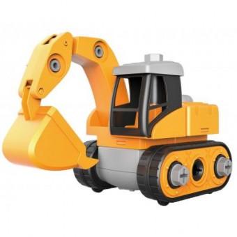 Изображение Конструктор Microlab Toys Конструктор  Строительная техника - Экскаватор (MT8901)
