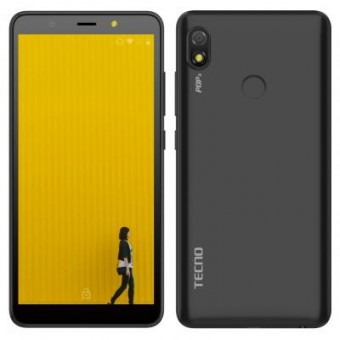 Зображення Смартфон Tecno POP 3 (BB2) 1/16Gb Dual SIM Sandstone Black