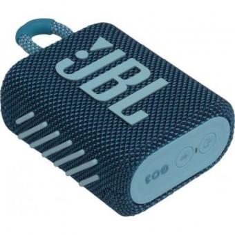 Изображение Акустическая система JBL Go 3 Blue (GO3BLU)