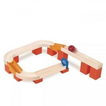 Зображення Конструктор WonderWorld Конструктор  Trix Track Поворот (WW-7004)