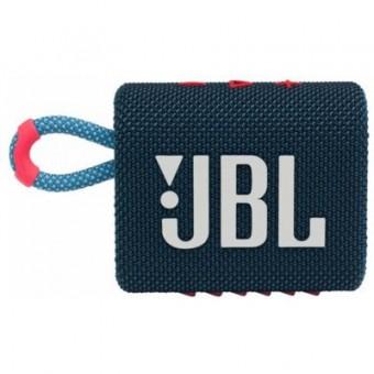 Зображення Акустична система JBL Go 3 Blue Coral (GO3BLUP)