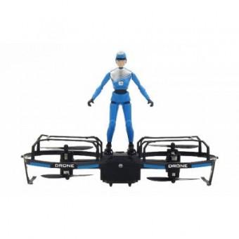Зображення Радіокерована іграшка Broadream  Квадрокоптер с фигуркой  S11 с удержанием высоты (BDM-S11-HOVER)