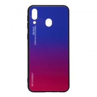 Изображение Чехол для телефона BeCover Gradient Glass Galaxy M20 SM-M205 Blue-Red (703564)