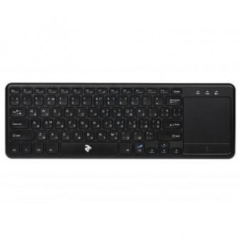 Зображення Клавіатура 2E KT100 Touch Wireless Black (-KT100WB)