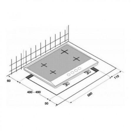Зображення Варильна поверхня Beko HIAW 64225 SX - зображення 2
