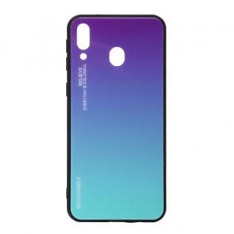 Зображення Чохол для телефона BeCover Gradient Glass Galaxy M20 SM-M205 Purple-Blue (703567)