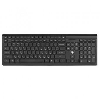 Зображення Клавіатура 2E KS210 Slim Wireless Black (-KS210WB)