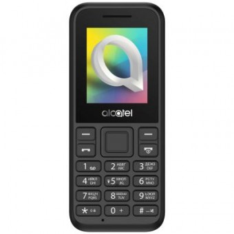 Изображение Мобильный телефон Alcatel 1066 Dual SIM Black (1066D-2AALUA5)
